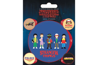 Stranger Things Stickers (Multi-colour) (One Size)