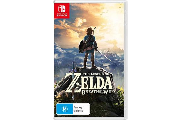 Nintendo Switch, The Legend of Zelda Breath of the Wild