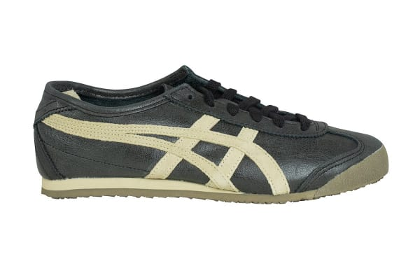 Onitsuka Tiger Mexico 66 Shoe (Black/Feather Grey, Size 8.5)