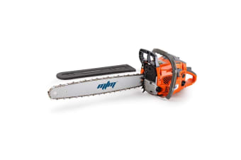 MTM 62CC Petrol Commercial Chainsaw 22 Inch Bar E-Start Tree Pruning Chain Saw