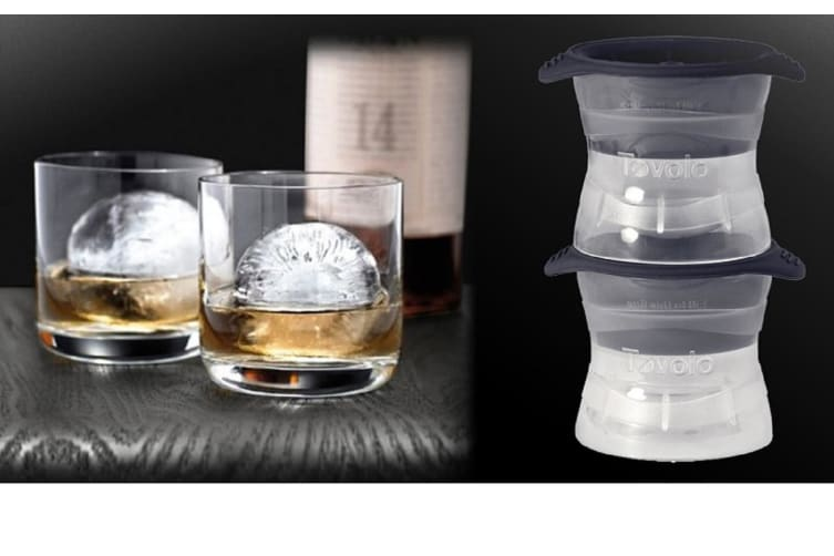 Ice Sphere Moulds With Stackable Trays