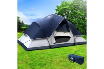 Camping Tent 6 Person Hiking Beach Tents Canvas Swag Waterproof