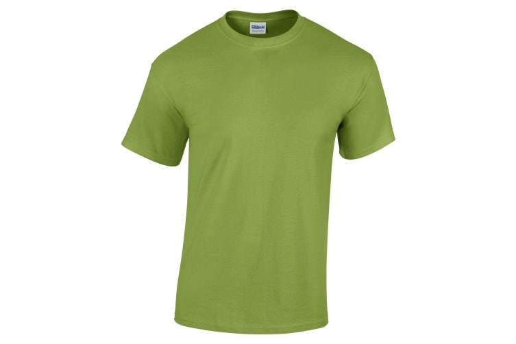Gildan Youth Unisex Heavy Cotton T-Shirt (Kiwi) (M)