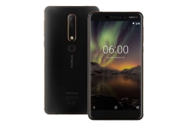 Nokia 6 2018 (64GB, Black/Copper)