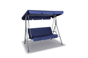 Gardeon Canopy Swing Chair (Navy)
