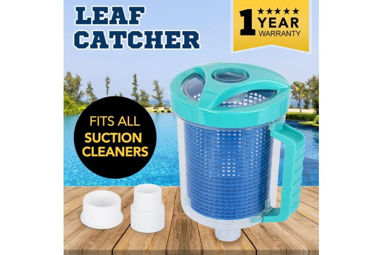 SAN HIMA Leaf Catcher Canister Suction Vacuum Above Below Ground Swimming  Pool Cleaner