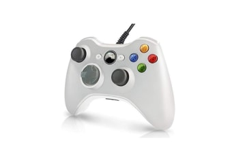 Wired Controller Usb Cable Gamepads Compatible With Microsoft Xbox 360 Console White
