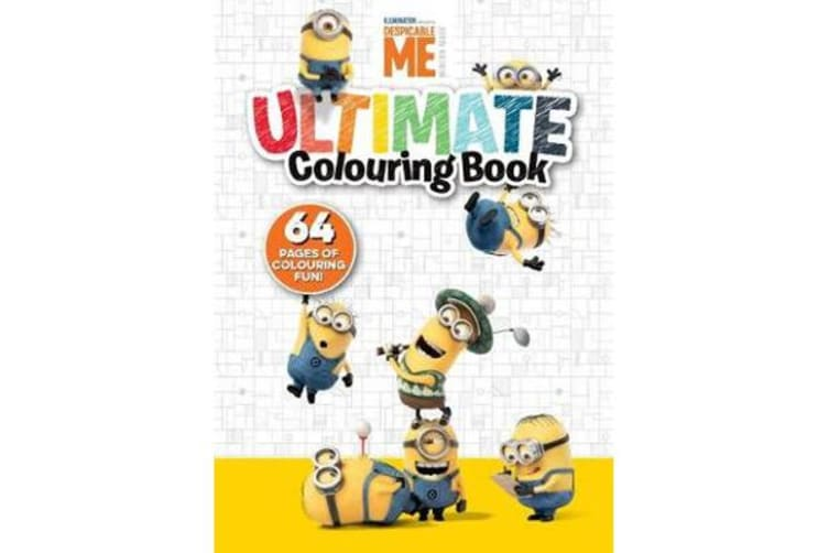 Despicable Me - Ultimate Colouring Book