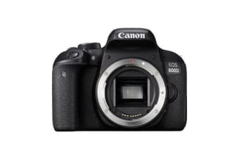 New Canon EOS 800D Body Digital SLR Camera Black (FREE DELIVERY + 1 YEAR AU WARRANTY)