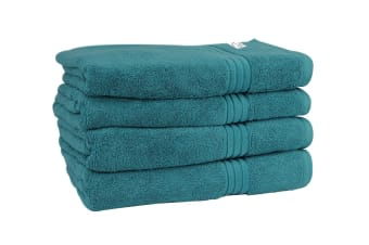 Onkaparinga Haven 600gsm Bath Towel Set of 4 (Jade)