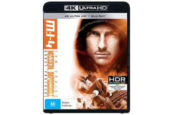 Mission Impossible Ghost Protocol 4K Ultra HD Blu-ray UHD Region B