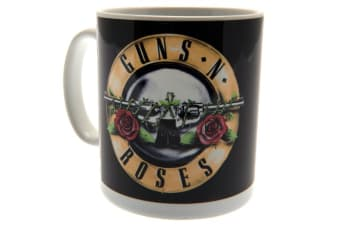 Guns N Roses Mug (Black/Red) (One Size)