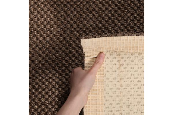 Natural Sisal Rug Tiger Eye Brown 160x110cm
