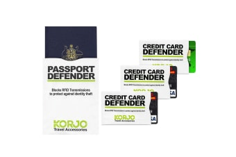 Korjo Credit Card/Passport Defender Pack