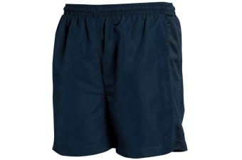 Tombo Teamsport Mens Lined Performance Sports Shorts (Navy)