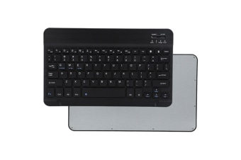 Select Mall Universal 10 Inch Slim Portable Wireless Bluetooth 3.0 Keyboard with Built in Rechargeable Battery-Black