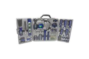 72pc Combination Tool Set/Kit Hammer/Pliers/Screwdriver Wrench/Ruler/Clamp/Bits