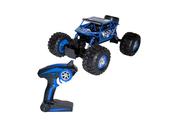 Remote Controlled Amphibious All-Terrain Vehicle - Blue