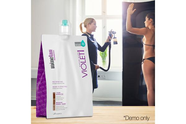 Voilet Spray Tan Solution 12 Hour Tan