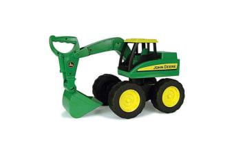 John Deere 38cm Big Scoop Excavator Vehicle/Car/Toy/Kids Construction Tractor