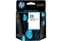 HP Ink Cartridge 23 Tri-colour C1823D
