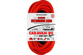 Ultracharge 20M 15A Caravan Extension Lead