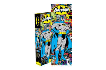 Batman Retro 1000pc Slim Puzzle