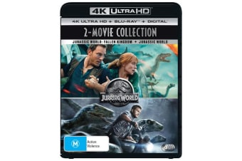 Jurassic World / Jurassic World Fallen Kingdom 4K Ultra HD Blu-ray Digital HD UHD