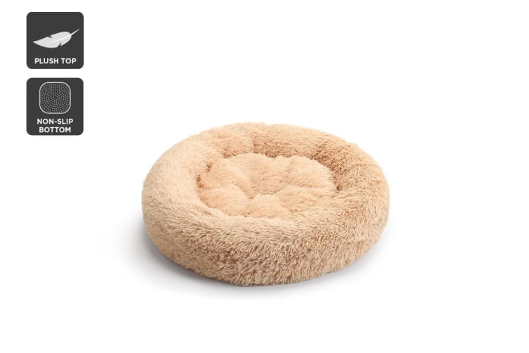Pawever Pets Round Nest Calming Bed 60cm