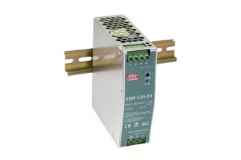 DIN Rail Power Supply 120W 12V 10A EDR Cooling by free air convection