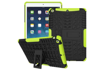 Heavy Duty Shockproof Case Cover Apple iPad Mini 4-Green