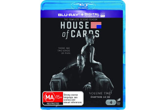 House of Cards The Complete Second Season 2 Blu-ray Region B