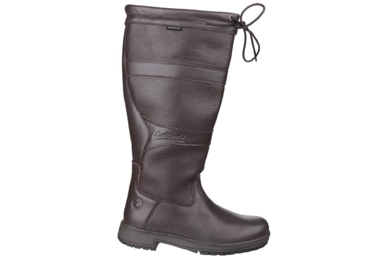 Cotswold Womens/Ladies Beaumont Waterproof Pull On Wellington Boots (Brown) (4 UK)