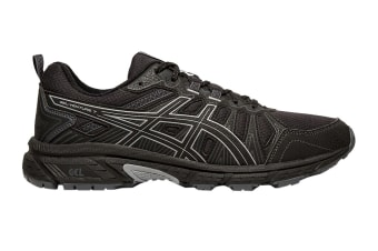 ASICS Men's Gel-Venture 7 Running Shoe (Black/Sheet Rock, Size 9.5 US)