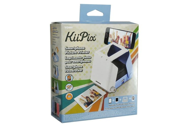 TOMY KiiPix Smart Phone Printer - Sky Blue