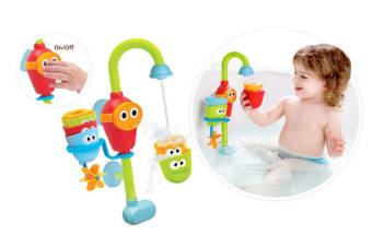 Yookidoo Baby Bath Toy Water Play Flow N Fill Spout