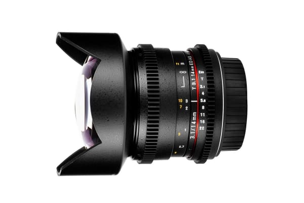 Samyang 14mm T/3.1 ED AS IF UMC Lens (Nikon Mount)