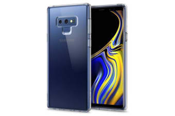 Spigen Galaxy Note 9 Ultra Hybrid Case Crystal Clear Certified Military-Grade Protection