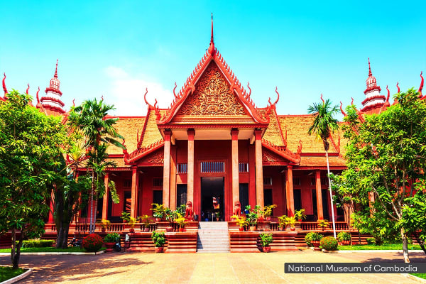 CAMBODIA: 7 Day Classic Cambodia Tour Including Flights for Two (Standard)