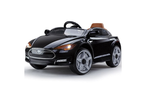 ROVO KIDS Ride-On Car TESLA MODEL S Inspired Electric Toy Battery 6V Black