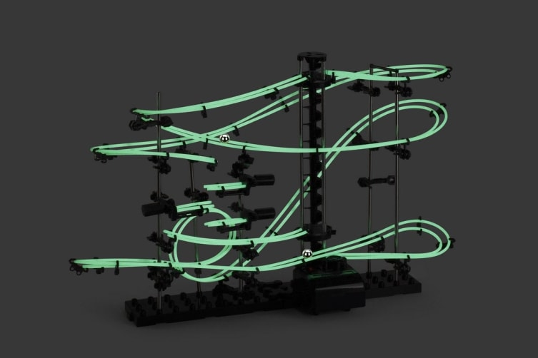 DIY Glow in the Dark Toy Rollercoaster (10m)