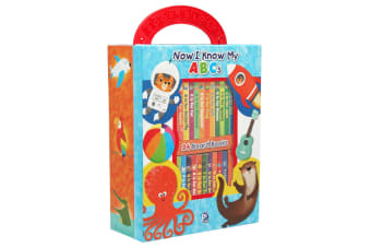 Now I Know My ABCs – My First Library 24 Board Book Block