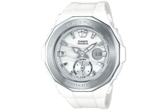 Casio Baby-G Analogue/Digital Female White Beach Glamping Series Watch  BGA220-7A BGA-220-7ADR