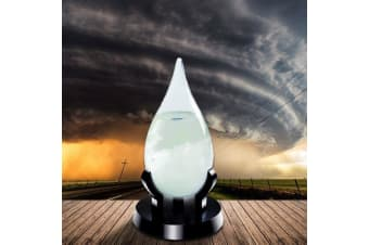 Fitzroy`s Storm Glass - Large Teardrop | Weather Forecast detect tear drop