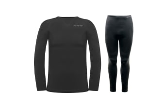 Dare 2B Mens Zonal III Base Layer Set (Black)