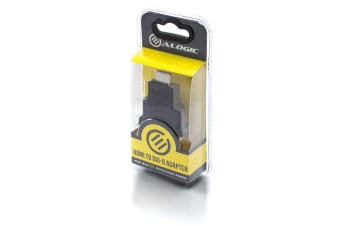 ALOGIC Premium HDMI (M) to DVI-D (F) Adapter - Male to Female - Retail Blister