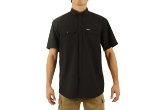 JetPilot Essentials S18 Mens Shirt - Black - M