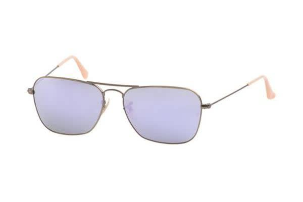 Ray Ban RB3136 - Brushed Demigloss Bronze (Lillac Mirror lens) Mens Sunglasses