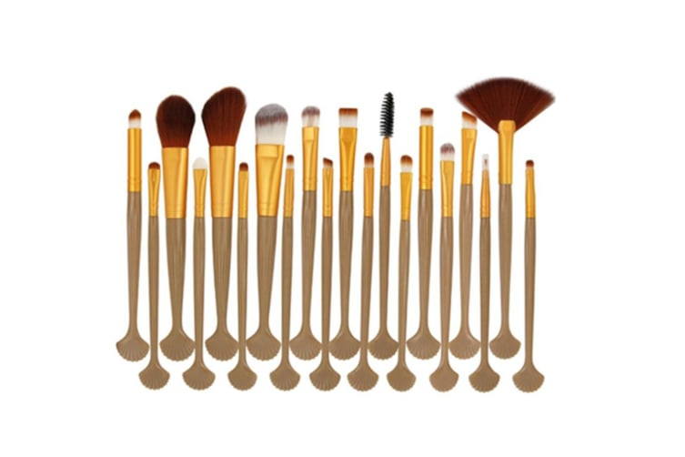 20pcs Shell Cosmetic Makeup Brush Blusher Set Y000067