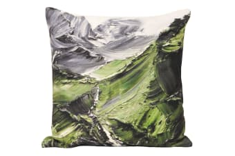 Riva Home Everest Cushion Cover (Green) (45x45cm)